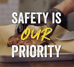 Our Commitment to your safety